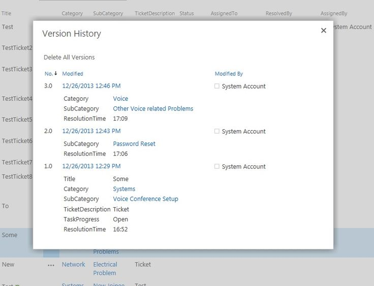 revision history screen - Google Search
