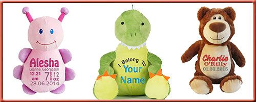 personalised teddy bears ideal gifts from newborns to adullt alike. All our teddy bears are embroidered we use cubbies or mumbles teddy with a stuffie pod so stuffing can be taken out for cleaning. #mumbles #cubbies #teddybears #embroidered #personalised #kids #newborns #childrens #gifts #presents# christmas #christenings #birthday #keepsakes