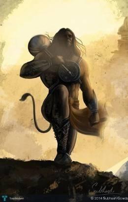 Hanuman Chalisa by Mohit Jaitly || Shri Hanuman Bhajans | Lyrics in English & Hindi