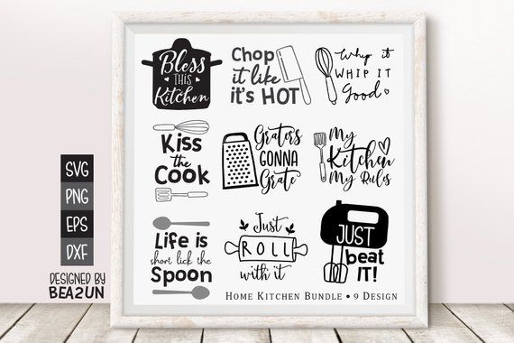 kitchen bundle svg funny kitchen svg kitchen quote funny utensil wall decor cooking print on kitchen quotes funny id=72974