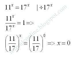 formule online probleme si exercitii rezolvate: Ecuatii exponentiale exercitiu rezolvat 22