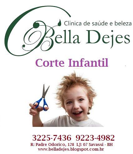 Bella Dejes: Corte infantil masculino e infantil