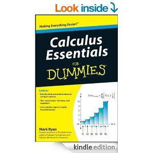 Amazon.com: Calculus Essentials For Dummies eBook: Mark Ryan: Kindle Store