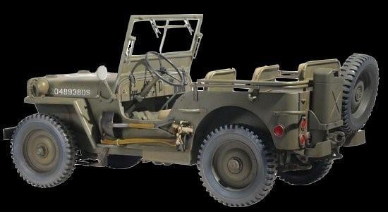 Dragon Military 1/6 US 1/4-Ton 4x4 Willys Jeep Kit