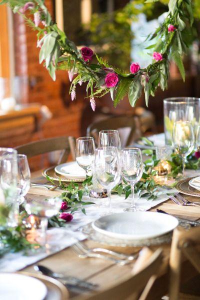 Dreamy table: http://www.stylemepretty.com/new-york-weddings/new-york-city/manhattan/lower-east-side/2015/04/24/enchanted-garden-engagement-party-inspiration/ | Photography: Orange Blossom - http://www.orangeblossomphoto.com/