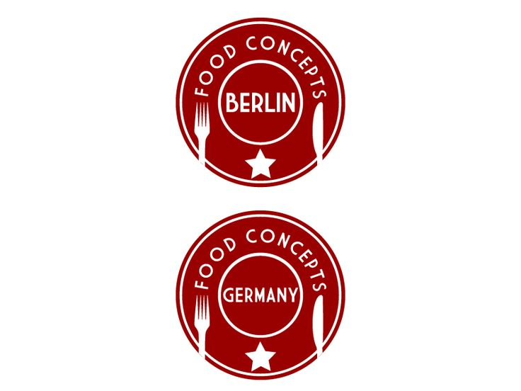 Logo for Food Concepts Berlin by Gabriel B