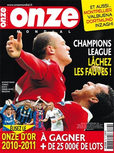 Onze Mondial N° 267 - Wayne Rooney, Fernando Torres, Samuel Eto'o, Daniel Alves, Karim Benzema, Le Onze d'Or