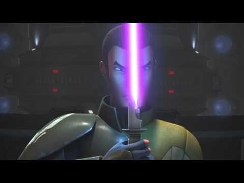Kanan VS The Inquisitor (Purple Lightsaber Edition) - YouTube