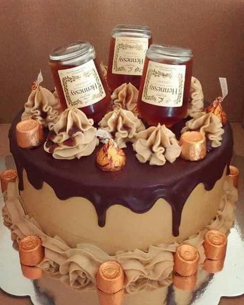 Henny hennessy cake