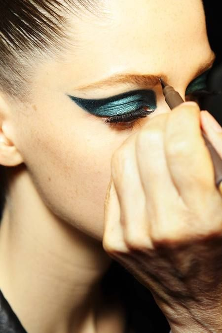 Atelier Versace Haute Couture 2014 Make-up