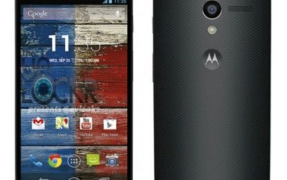 Motorola Moto X Smartphones 4.7-inch OLED display