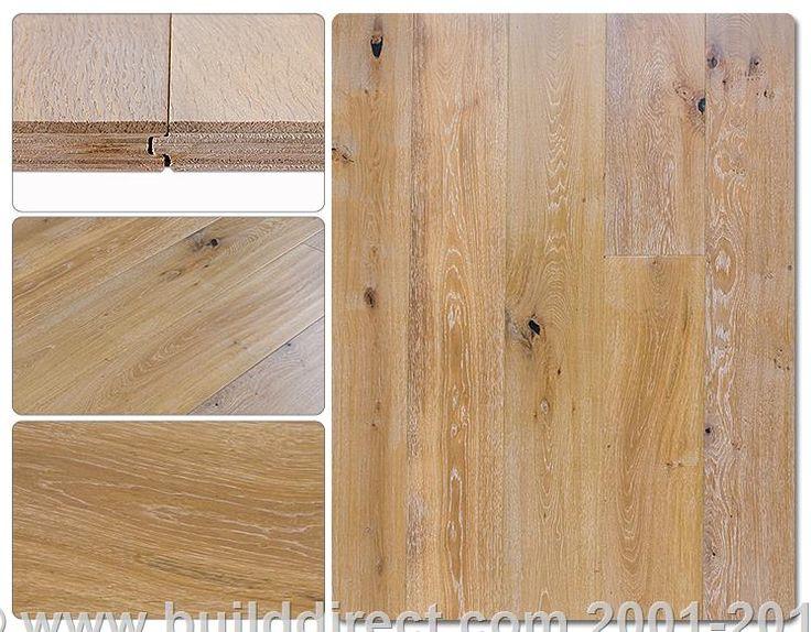 BuildDirect®: Vanier Engineered Hardwood - Extra Wide Plank Oak Collection