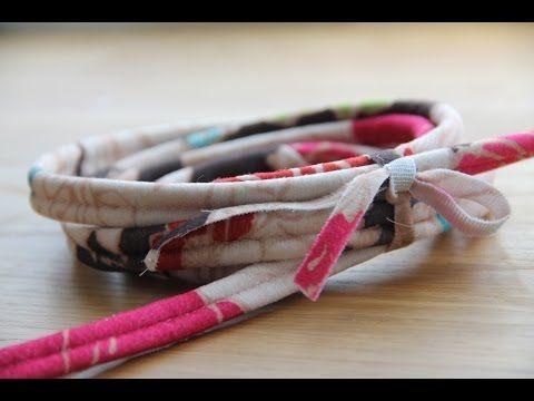 Как сделать декоративный шнурок без специальной лапки за 10 минут. - YouTube