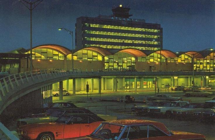Atlanta airport 1971