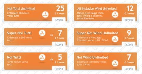 Wind - proroga per la promozione 'Passa a Wind' per i clienti prepagati