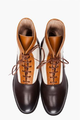 Polished boots by Alexander McQueen