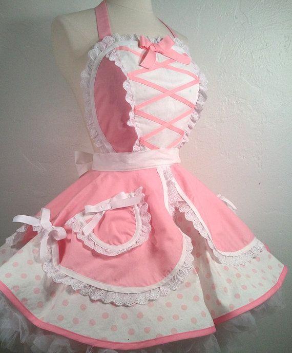Lil Bo Peep Pin Up Apron Halloween Costume by PickedGreen on Etsy, $80.00 Little Bo Peep?  Perhaps!!