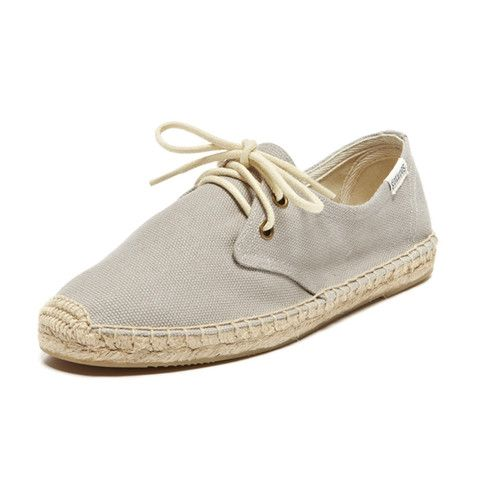 Dali Light Grey Espadrilles | by bibico