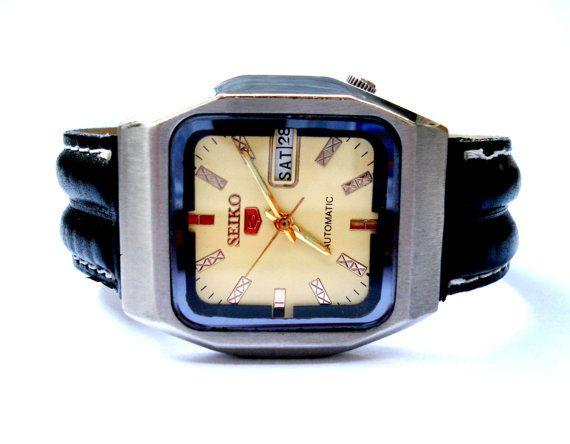 Vintage Reloj SEIKO 5 Automatico Mod. A6319 Day & por shopvintage1