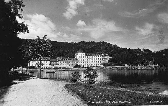 Hagavik kysthospital, Hordaland foto: K. Knudsen, Bergen