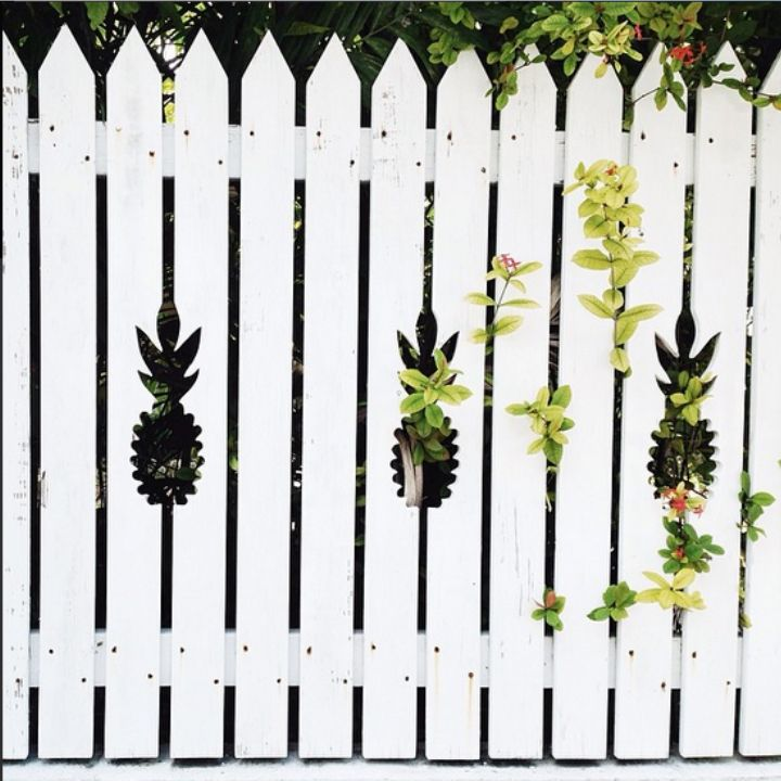 Key West Pineapple Fence