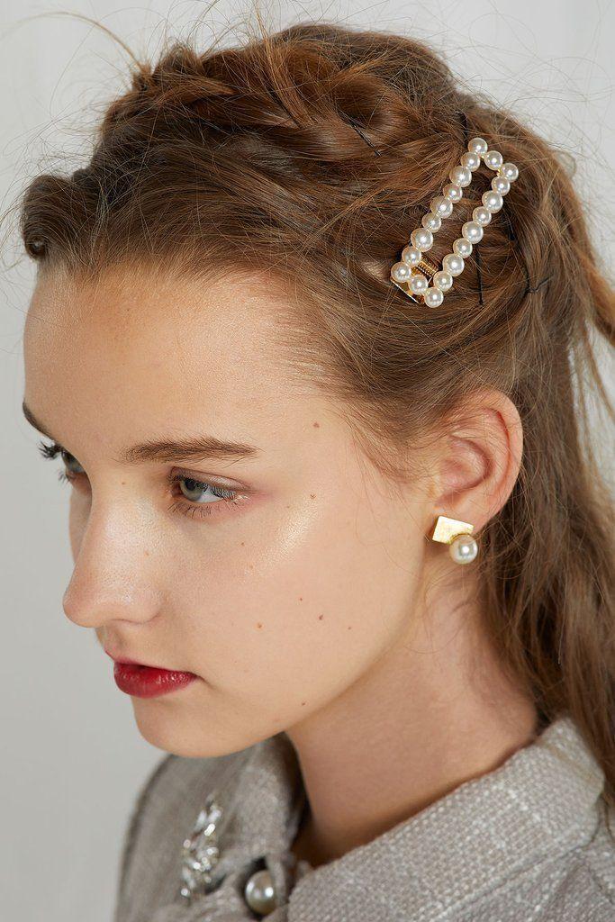 Josephine Pearl Haarnadel Haarnadeln Haar Schal Stile Stirnband Frisuren