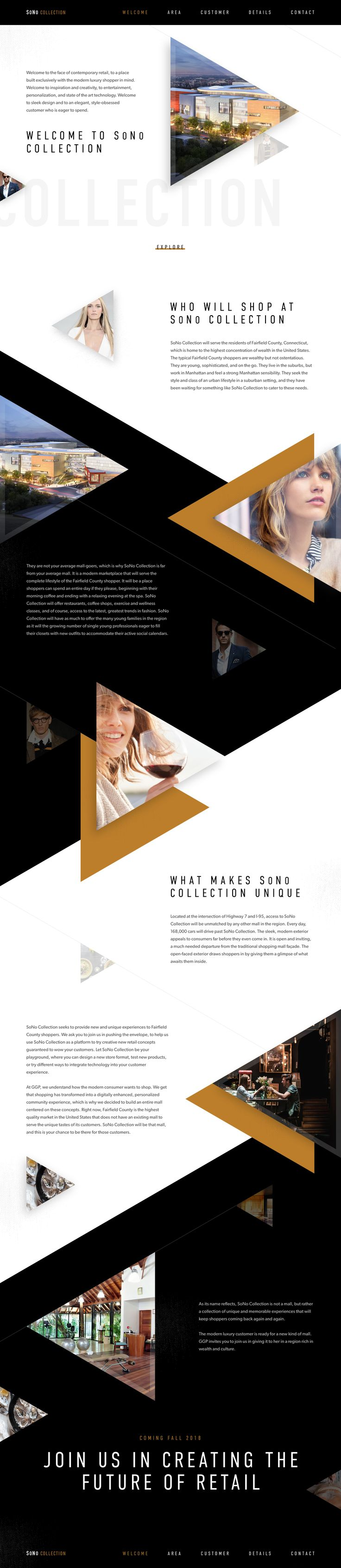 Ui final design concept created for Sono's marketing pitch directed at potential retailers. By Elegant Seagulls.
