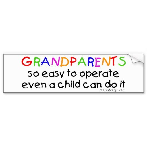 Proud grandparents of a us soldier bumper sticker grandparents and shopping