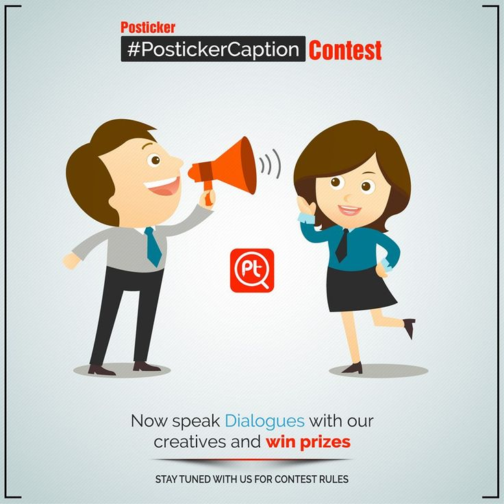 ‪#‎PostickerCaption‬ Fill in Dialogues or Caption image on our creatives in comment box and 'Win Prizes'. Like this page for ‪#‎Contest‬ rules