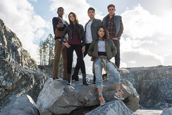 The Main Cast Of Power Rangers