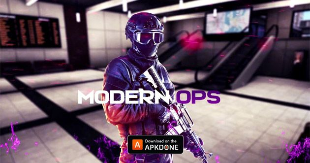 Modern Ops Mod Apk 4 06 Download Unlimited Bullets For Android
