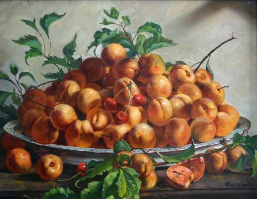 Apricots, Joseph Sheppard http://musapietrasanta.it/content.php?menu=artisti