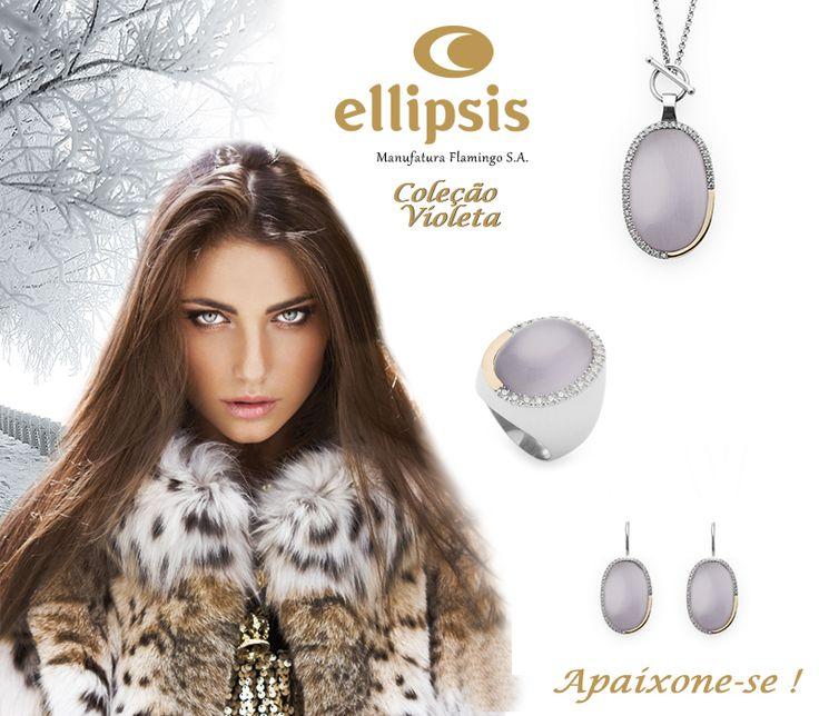 """Coleção """"Violeta"""" da ELLIPSIS ♥"""