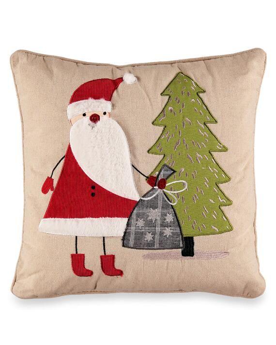Home Goods Christmas Pillows : goods, christmas, pillows, Copenhagen, Santa, Decorative, Pillow-Bedding-Bed, Stein, Pillows,, Christmas, Decor, Pillows