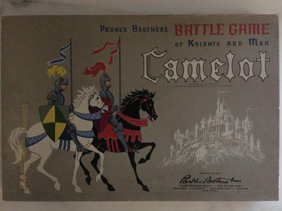 Unused Parker Bros Camelot Board Game