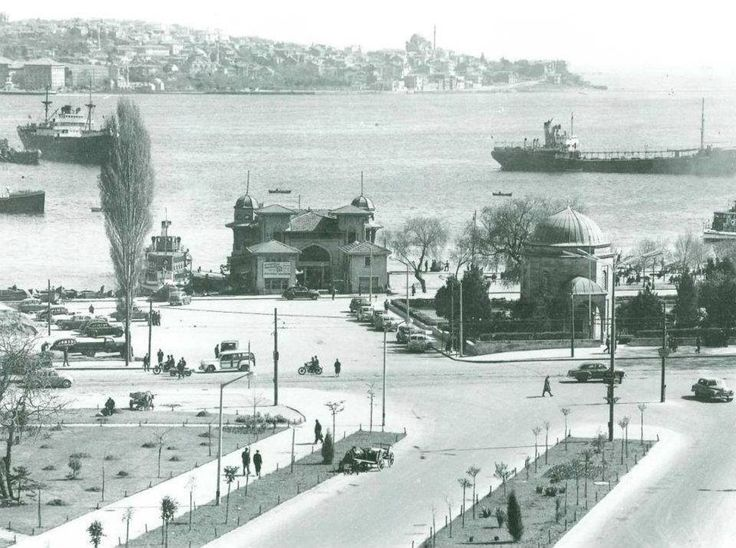 Beşiktaş iskelesi evet.1960 lar