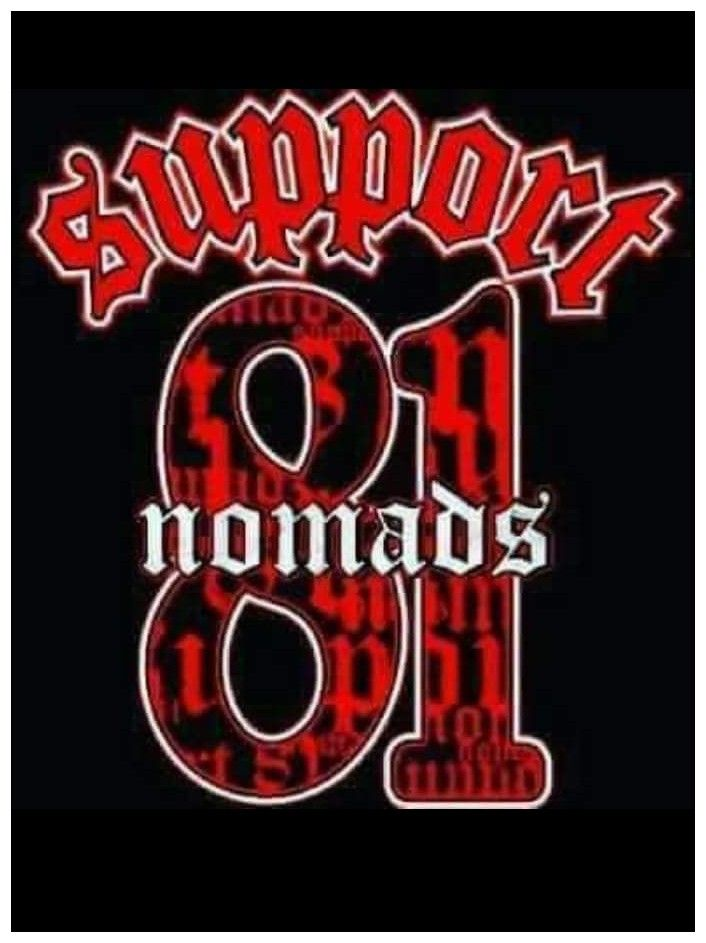 Support 81 Nomads   SuPpOrT 81   Hells angels, Motorcycle clubs