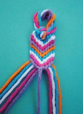 zakka life: How to Make an Oversized Friendship Bracelet