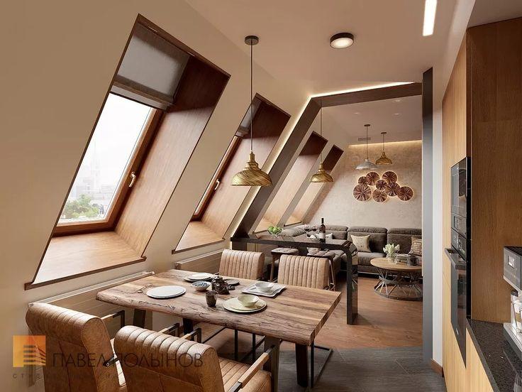 Фото: Дизайн кухни - Квартира в современном стиле с элементами лофта, ЖК «Эдельвейс», 102 кв.м.