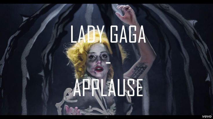 Lady Gaga - Applause || Click the image to watch the video || #Music #Video #Song #LadyGaga #Lady #Gaga #Applause #ARTPOP    ARTPOP 11.11.2013