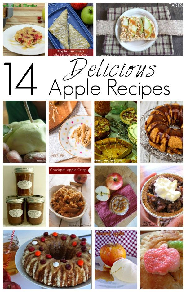 Block Party: Apple Recipes Round Up - Rae Gun Ramblings