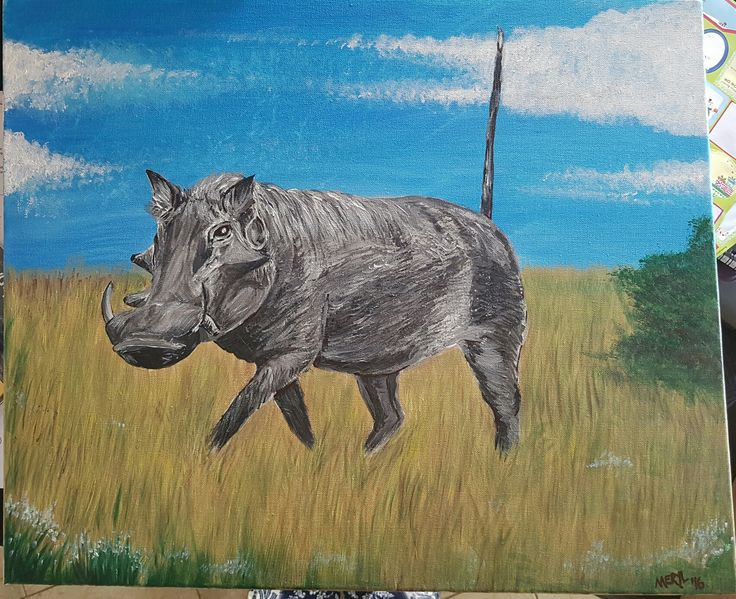 warthog painted for christmas prezzie dec 16