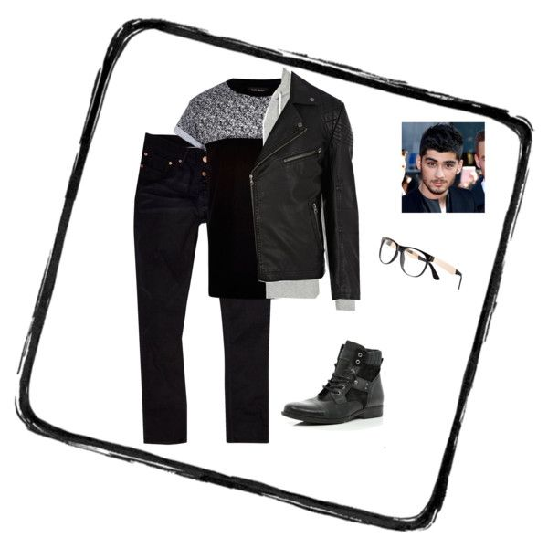 """Zayn Malik Midnight Memories video outfit"" by katie-francesca-kelland on Polyvore"