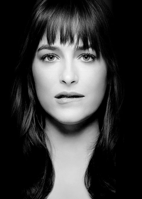Fifty Shades of Grey Photosoot - Dakota Johnson as Anastasia Steele