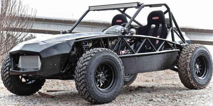 Built using a donor NA or NB Miata, the Exomotive Exocet Off-Road is like an Ariel Nomad on a budget.