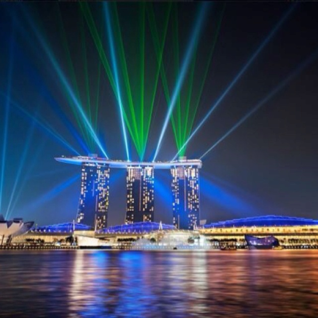 Marina Bay Sands Hotel, Singapore--stayed here and visited the INSANE infinity pool in March 2015!! #bucketlist