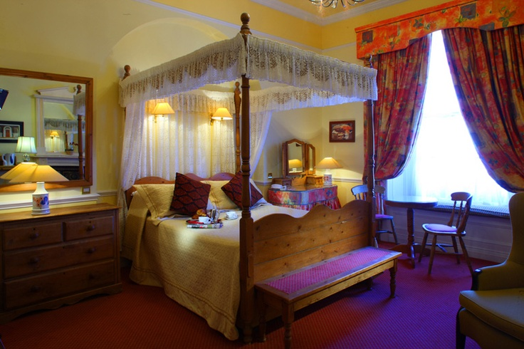 Bedroom in Benners Hotel Dingle Kerry Ireland © David Cantwell Photography