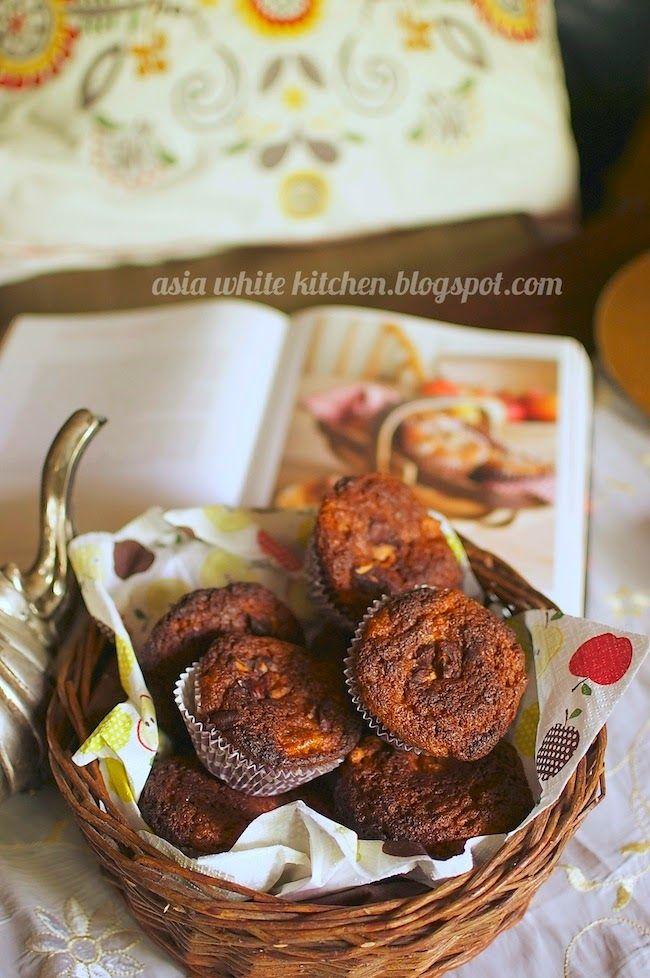 Asia's White Kitchen: Muffiny z jabłkami i cynamonem