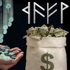 Как открыть денежный канал рунами?