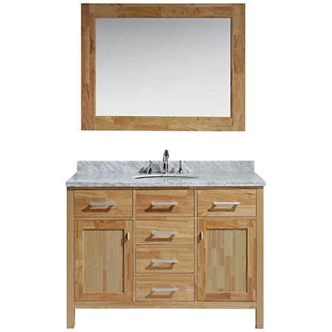 small single sink vanity. London 48  Carrara Marble Honey Oak Single Sink Vanity Set Best 25 sink vanity ideas on Pinterest